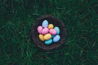 Plan an Easter egg hunt as a fundraising idea for church youth groups and see who takes home the prize!