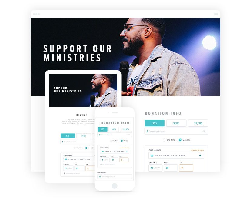 Donately offers great church fundraising software.