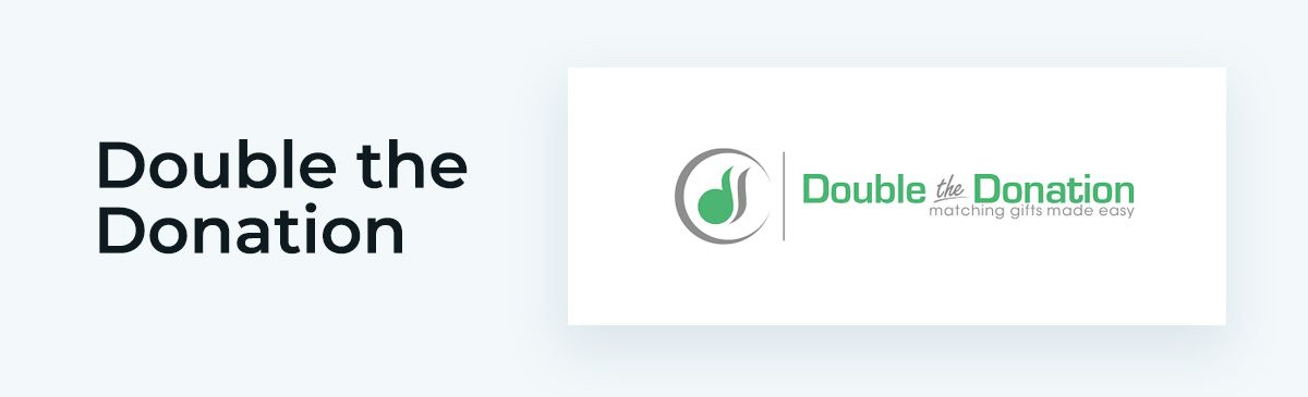 Double the Donation is an awesome online donation tool.