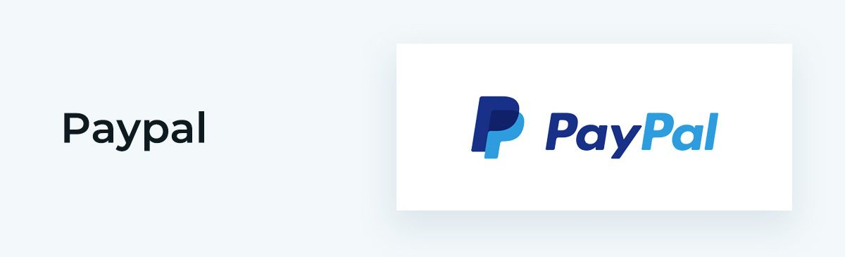 PayPal offers payment processing as its online donation tool.