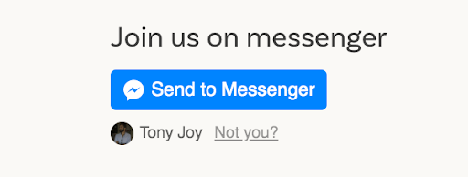 Learn howt o use facebook messenger in your donor relations.