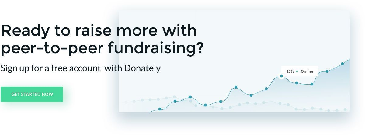 See how Donately's intuitive software can help you reach new peer-to-peer fundraising heights.
