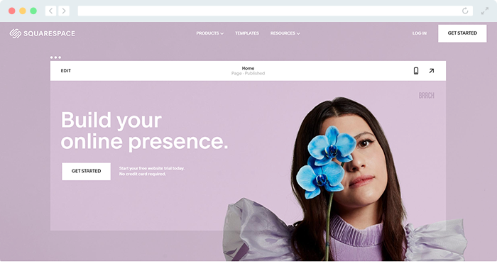 Squarespace's fundraising website will help you harness the power of content marketing.