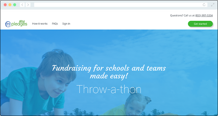 99Pledges empowers schools through its team-based donation platform.