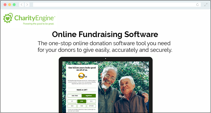 CharityEngine's donation software enables nonprofits to improve donor relationships.