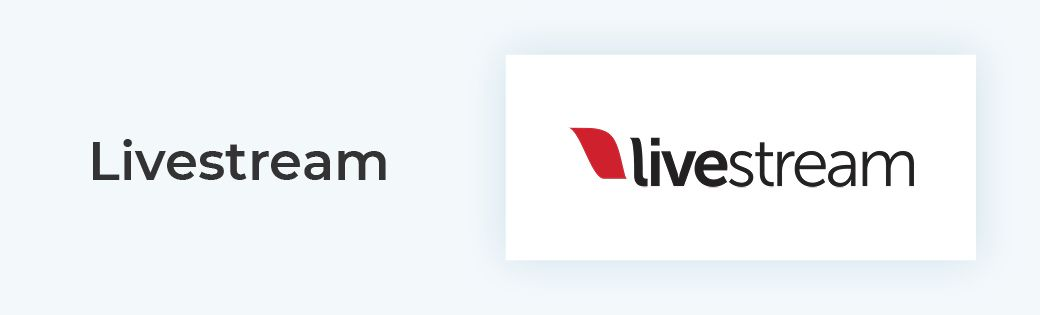 Livestream is the best donation software for live streaming fundraising events.