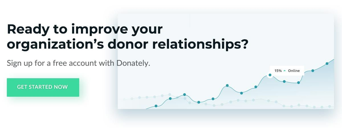Create your free account with Donately, the nonprofit market's leading Blackbaud alternative.