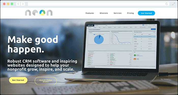 NeonCRM offers a custom Zapier integration that enhances constituent management, automates social media outreach, and handles event management.