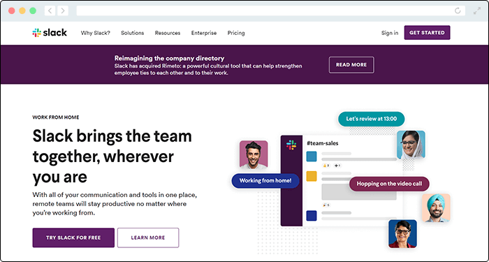 Use Slack's Zapier automation capabilities to enhance team communications.
