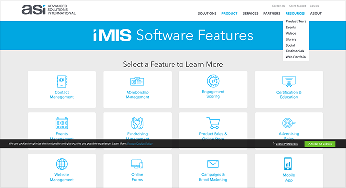 iMIS is a Kindful alternative that helps nonprofits turn supporters into lifelong advocates.